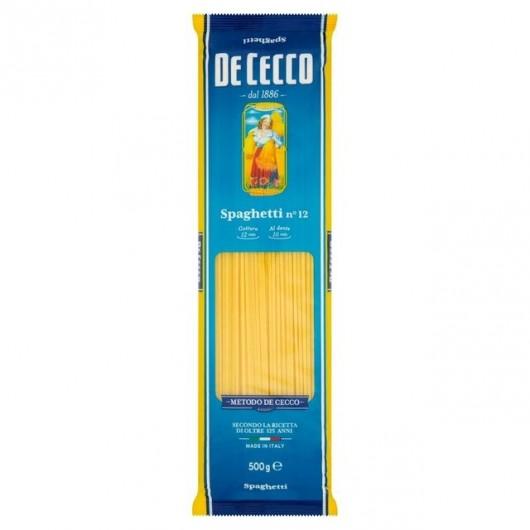 De Cecco Spaghetti Nº12 500gr